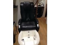 Pedicure spa massage chair (used)