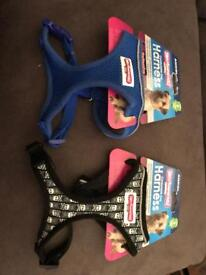 2 unused pet harnesses