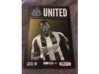 Newcastle United Promotion Programme 2016/17