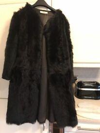 Prada sheepskin coat
