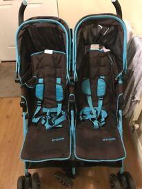 Isafe twin optimum stroller