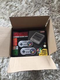 Classic mini snes brand new in box