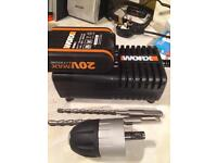 20v Worx battery charger and battery