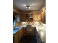 Complete solid wood kitchen units