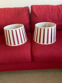 Lovely Laura Ashley lampshades
