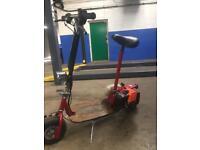 2 stroke petrol scooter