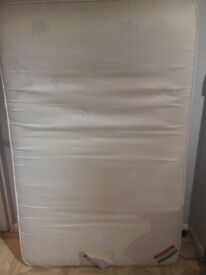Small double mattress (4ft) - used but in good condition