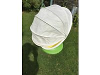 Childs IKEA swivelling egg chair outdoor indoor seat