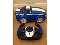 Remote control Mustang car w/batteries