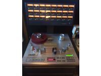 Studer A827 Gold Edition 24 Track Tape Machine with Dolby SR and a Remote Control