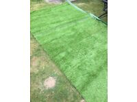 Artificial grass offcut new and excellent quality