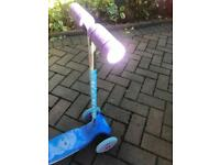Frozen scooter hardly used