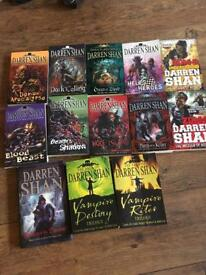 Collection of Darren Shan books