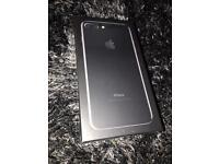 iPhone 7 Plus 128gb Jet Black Unlocked. Brand new and sealed