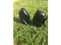 BMW wing mirrors powerfold e46