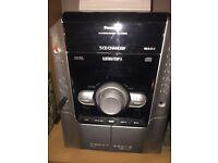 Great Condition,Panasonic SA-AK240 - 5 Disc CD Stereo System