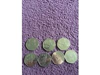 Collectable 50p's