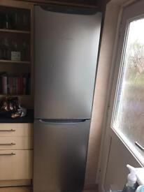 fridge freezer silver