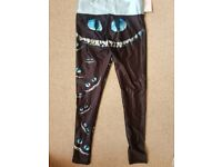 Lotus leggings 'we're all mad here' athletic leggings size medium - for a UK size 8-10