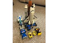 Lego city spaceport 60080 and training jet 60079