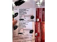 2x Taylor swift tickets