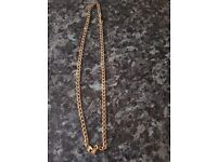 9ct gold necklace chain
