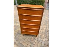 Vintage 6 drawer storage unit