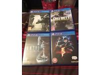 FORSALE PS4 GAMES