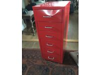 Small 6 drawer filing cabinet