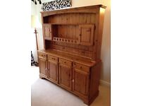 Ducal Solid Pine Welsh Dresser
