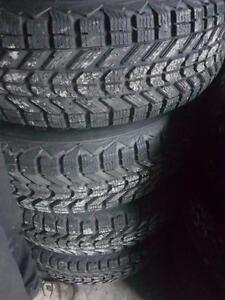 4 Used 235/75/15 Winter Tires