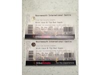 3 x Nick Cave standing tickets Bournemouth Int Centre (can sell individually)