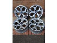 "Focus ST 18"" Snowflake alloy set"