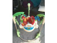 Jumperoo lights and sounds