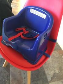 booster seat for chair