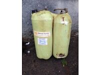 Hot water storage tank with immerser space saver tank