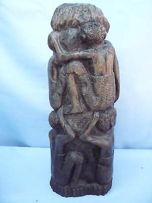 Beautiful Old Ebony Figure Cult Figure__Africa __1,7kg__