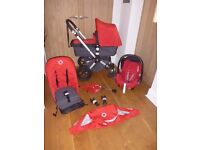 Bugaboo Cameleon 2 Full Travel System! Immaculate! Pushchair, Carrycot & Maxi Cosi Car Seat!
