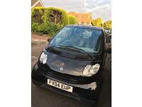 Smart Car For Two Coupe Black Semi-Auto 80k Miles Great Car Cheap To Run Semi Automatic Leicester