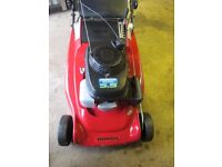 HONDA LAWN MOWER SELF DRIVE WITH ROLLER