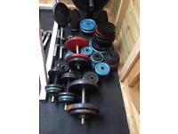Weights & Dumbells & Barbell
