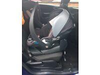 Be Safe Izi Go Car Seat and Isofix