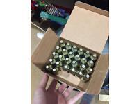 25 16g CO2 soda cartridges (unthreaded)