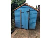 8 by 6 garden shed