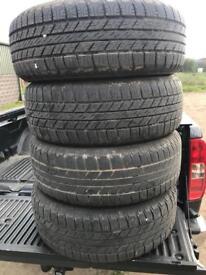 255 65 17 Tyres good year wrangler
