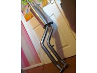 BMW E46 stainless decat exhaust stainless