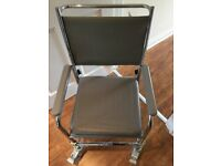 NRS Wheeled Commode Fixed Height- Excellent Condition