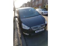 PCO Car Hire: FORD GALAXY 2015, Automatic, 7 Seater, Black, Uber Ready