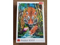Brand New - still sealed - 1,000 piece jigsaw of a grass Tiger