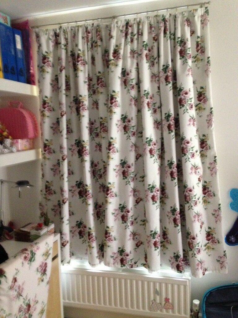 Ikea fabric curtains (pair) with blackout lining | in Archway ...